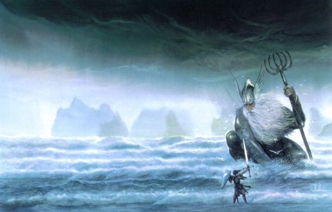 John Howe - Poseidon