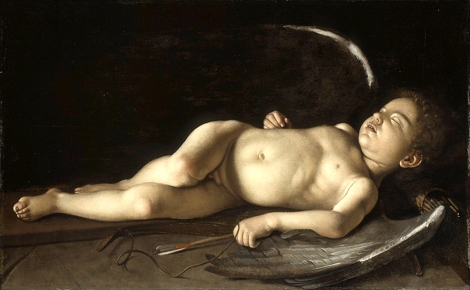michelangelo_caravaggio_60_sleeping_cupid