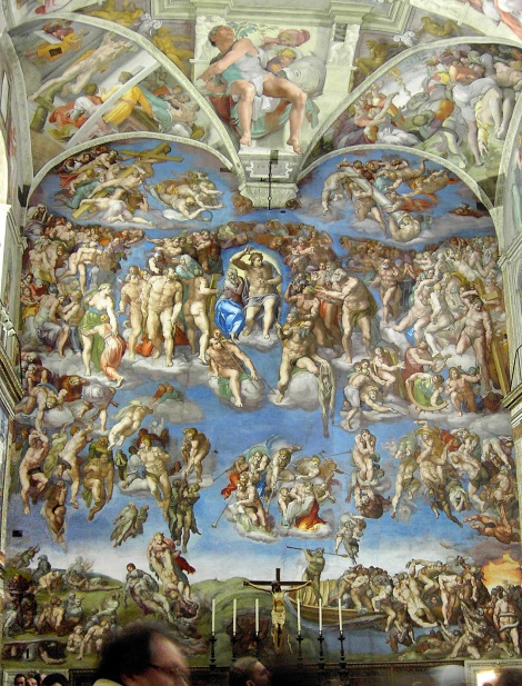 Rome_Sistine_Chapel_altar