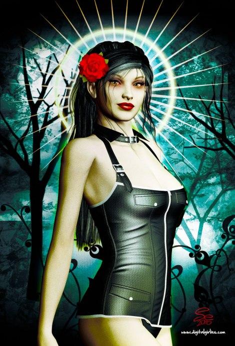 santa_vampira_pinup_by_seanearley-d2ztrac