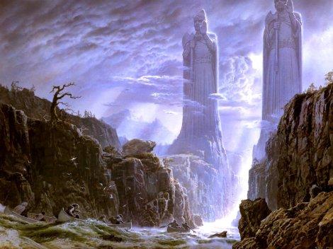 Ted Nasmith - Tolkien Calendar 2002 - 10