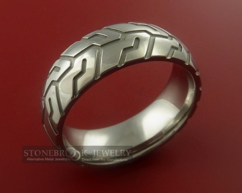tire_tread_styled_titanium_ring_3