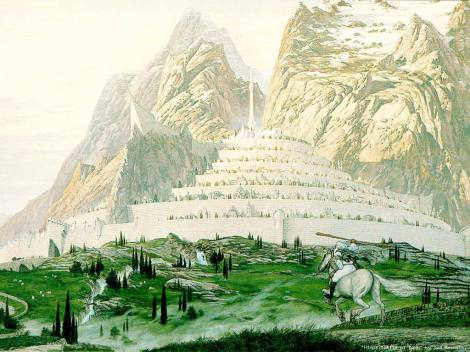 tolkien-minas-tirith-at-dawn