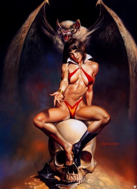 vampirella-boris vallejo