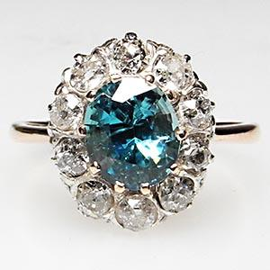 Victorian-Era-antique-zircon-diamond-engagement-ring-wm6767i