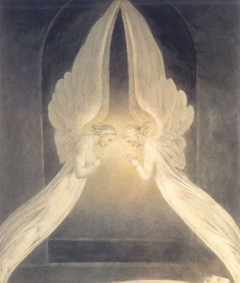 william Blake angels
