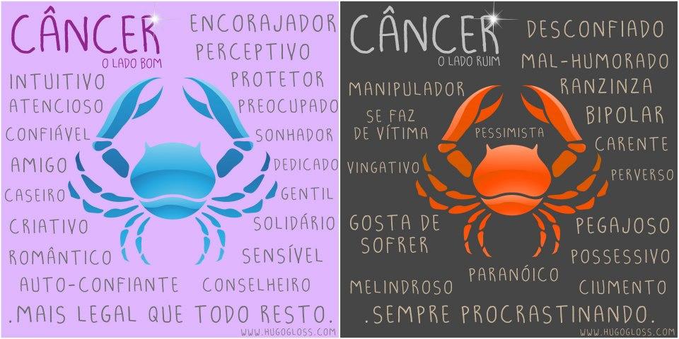 Resultado de imagem para cancer lado bom e ruim