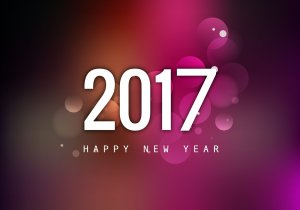 vector-happy-new-year-2017-with-colorful-background